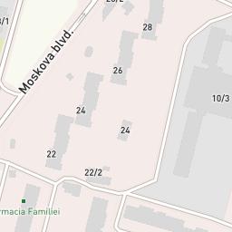 Oficiul postal 2045 — Visicom maps